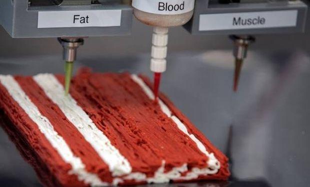 """Alt-Steak: así funciona la primera impresora de """"carne 3D"""" que planean instalar este año en restaurantes"""
