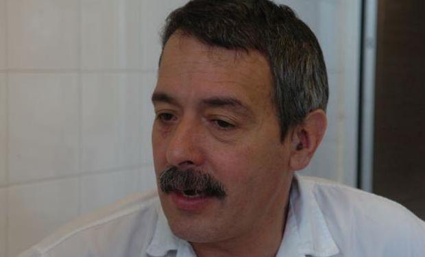 Heber Falero, presidente de la Unión de Vendedores de Carne de Uruguay. Foto: F. Flores