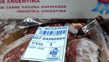 Hito comercial: Argentina exportó por primera vez carne enfriada a China