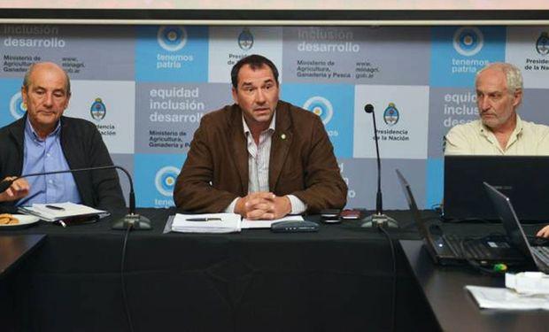 Luciano Zarich, director de Control Comercial Agropecuario de la Nación