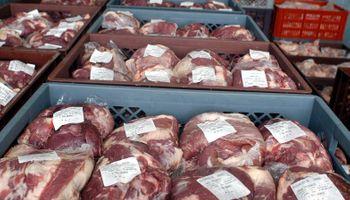 El precio de la carne al público sigue por debajo de la inflación