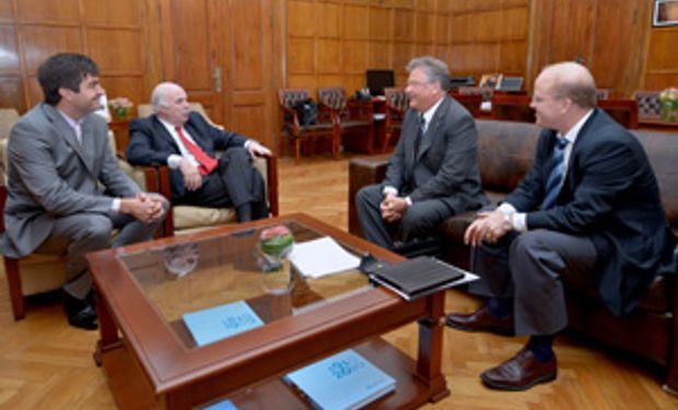 Carlos Casamiquela define agenda de trabajo con el gobierno de Santa Fe
