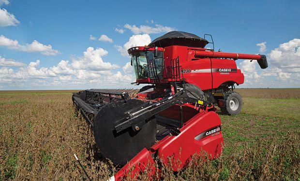 Entre las soluciones ofrecidas por Case IH, están las cosechadoras de granos Axial-Flow.
