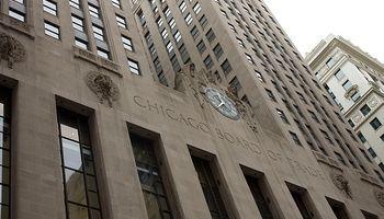 Subas para los granos en Chicago