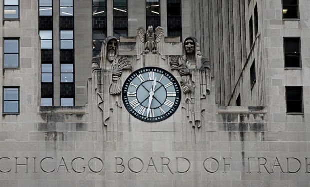 Bajas en Chicago para cerrar la semana.