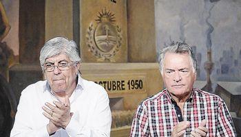 """Moyano garantizó un paro """"total"""" y mete presión para sumar a gremios del transporte"""