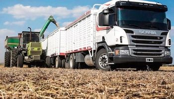 La tarifa del transporte de cereales aumentó un 18%
