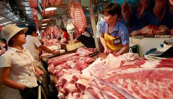 Cerdo: máximo de siete años para la producción de carne en China