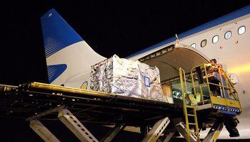 Aerolíneas Argentinas transportó 1300 kg. de cerezas a China