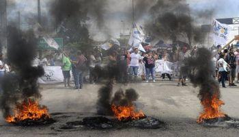 CGT San Lorenzo levantó los cortes tras un trágico incidente