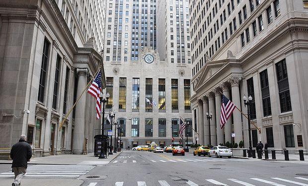 Mercado de Chicago: apertura con caídas