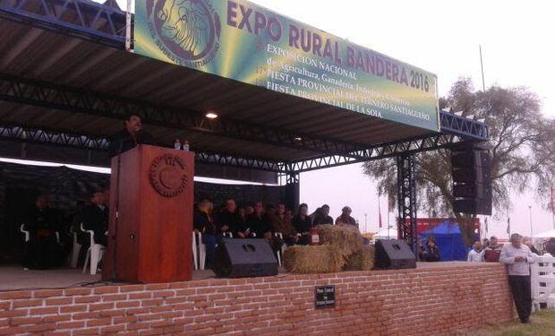 Fue en el marco de la Expo Rural del Sudeste Santiagueño.