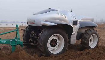 China lanza un tractor Smart con tecnología 5G y a control remoto