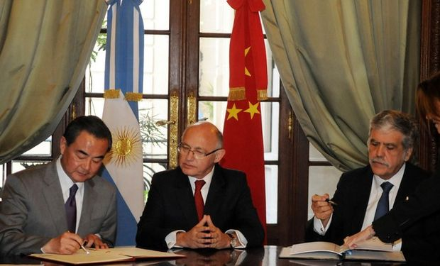 China y Argentina acordaron promover lazos bilaterales
