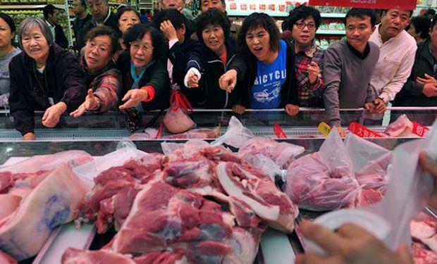 Se recalienta el mercado chino de carne por el cierre de exportaciones argentino