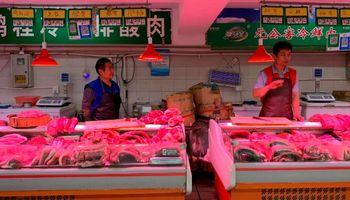 Gesto de China: elimina aranceles a la soja y el cerdo de los Estados Unidos