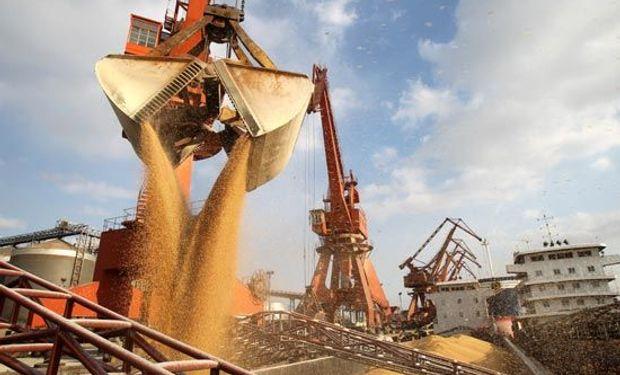 En julio la importación de soja en China fue récord.