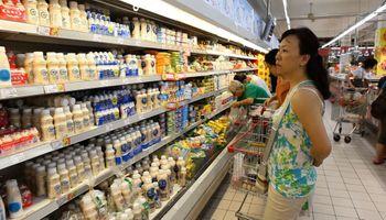 Inflación del 2,7% en junio: los productos lácteos lideran el aumento en alimentos