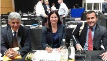 Argentina asumió la vicepresidencia del Consejo Internacional de Cereales