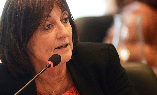 Alicia Ciciliani, Ministra de la Producción de Santa Fe.
