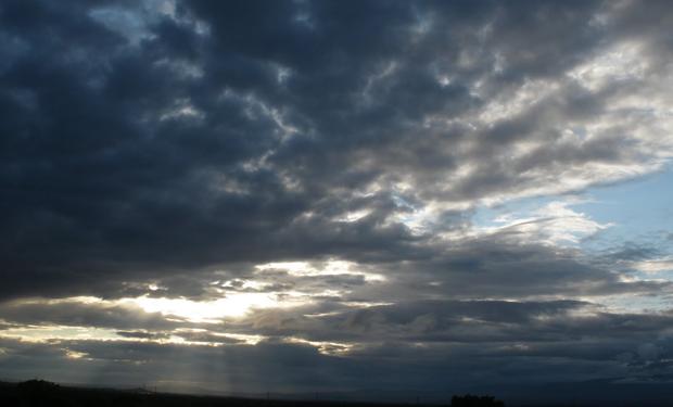 Cielo algo nublado, inestable en algunas regiones