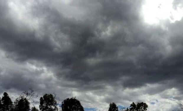 Lluvias: en la mañana del domingo hay una zona que podría recibir hasta 30 mm