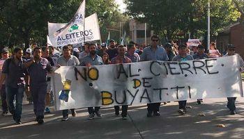 Cierre de Buyatti: trabajadores llegaron a un acuerdo con la empresa y surgió un nuevo pedido