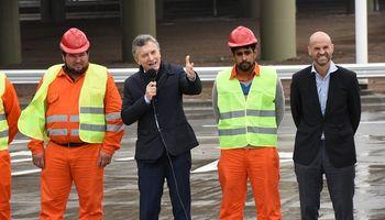"Macri inauguró una ""autopista urbana"" en Rosario"
