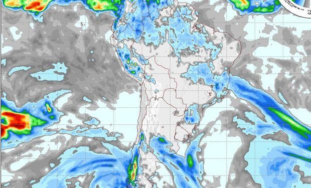 Pronóstico del tiempo para el día martes.