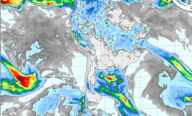 Pronóstico del tiempo para el día miércoles.