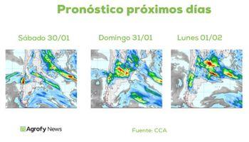 Pronóstico tiempo: ¿Seguirán las lluvias durante los primeros días de febrero?