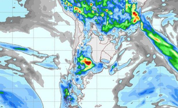 Pronóstico lluvias 7 de noviembre.