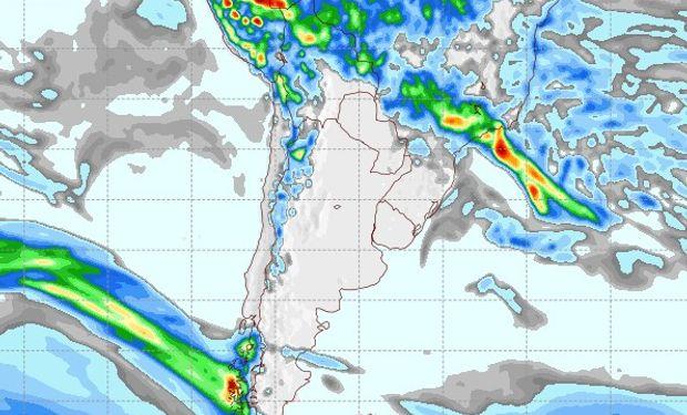 Pronóstico de lluvias para el 15 de febrero.
