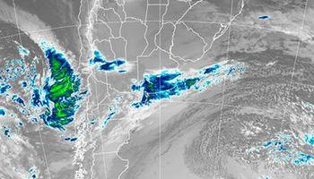 Se esperan lluvias sobre la región este del país