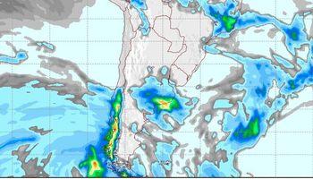 Pronóstico de clima para los próximos días: lluvias, tormentas y un sistema frontal frío