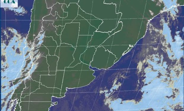 La foto satelital finalmente muestra algo que por varias semanas fue un anhelo que no se concretaba.
