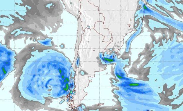 Pronóstico de lluvias para el 31 de julio.