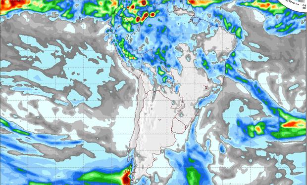 Pronóstico valido para el 14 de mayo de 2015.
