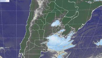 Tiempo inestable con lluvias sobre regiones