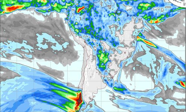 Pronóstico valido para el 16 de mayo de 2015.