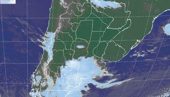 Despliegue generalizado de coberturas nubosas