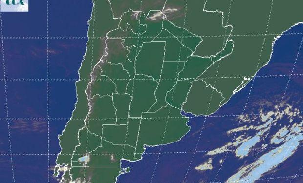 La imagen satelital exime de comentarios.