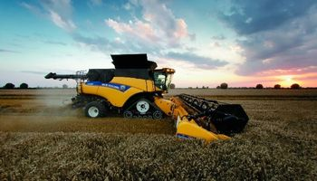 CNH Industrial lanza la cosechadora más potente del mundo
