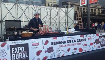 El asado, una tradición argentina en La Rural