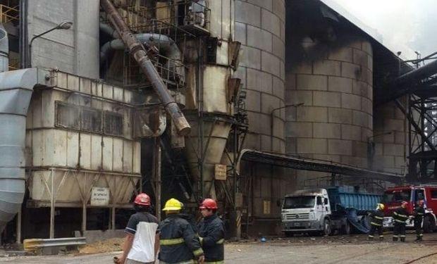 Explosión de planta cerealera, Cofco.