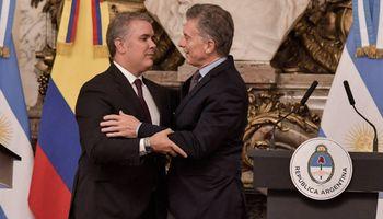 El presidente de Colombia visitó Argentina para afianzar el comercio bilateral