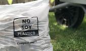 Economía circular: con fecula de maíz, crearon bolsas que se desintegran solas