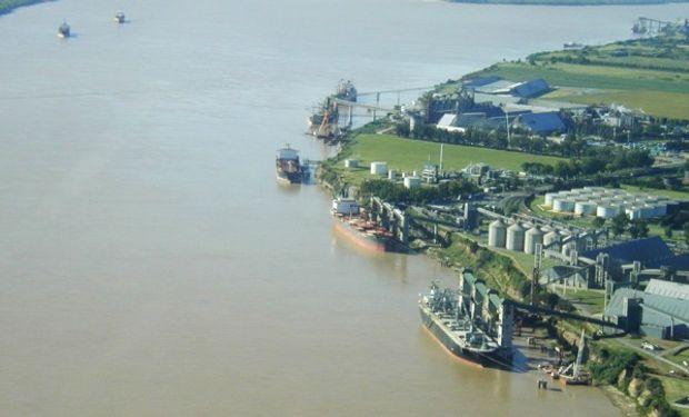 Complejo portuario San Lorenzo duplicará sus cargas a 400 mil toneladas el año próximo.