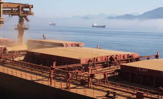 La actividad importadora china se mantuvo activa.