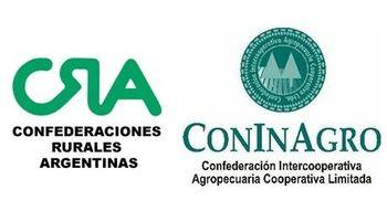 CRA y CONINAGRO manifestaron su rechazo a la intervención del mercado lácteo